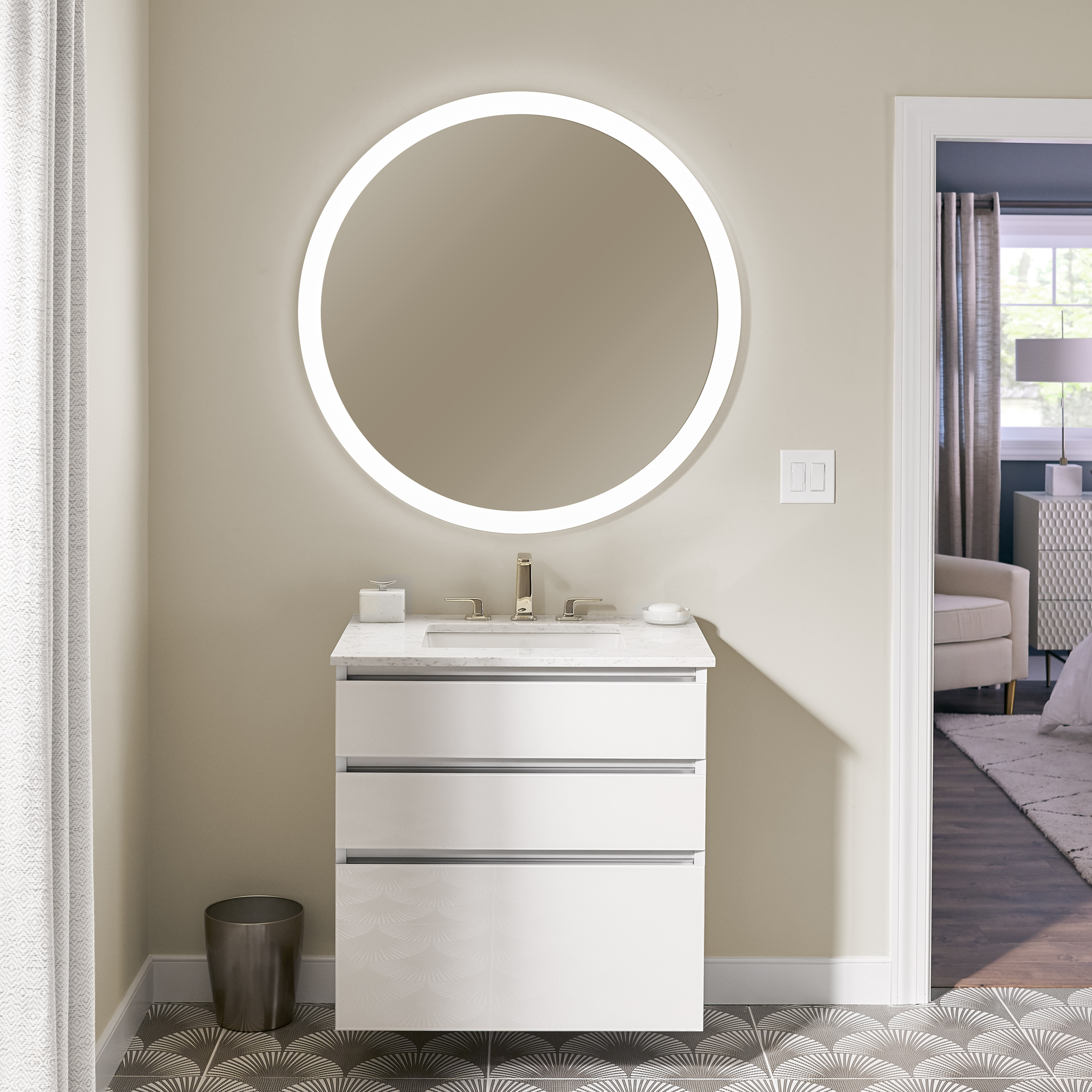 Ordinaire Robernu0027s New Vitality Line Brings High End Lighted Mirrors To  Budget Conscious Projects | Robern