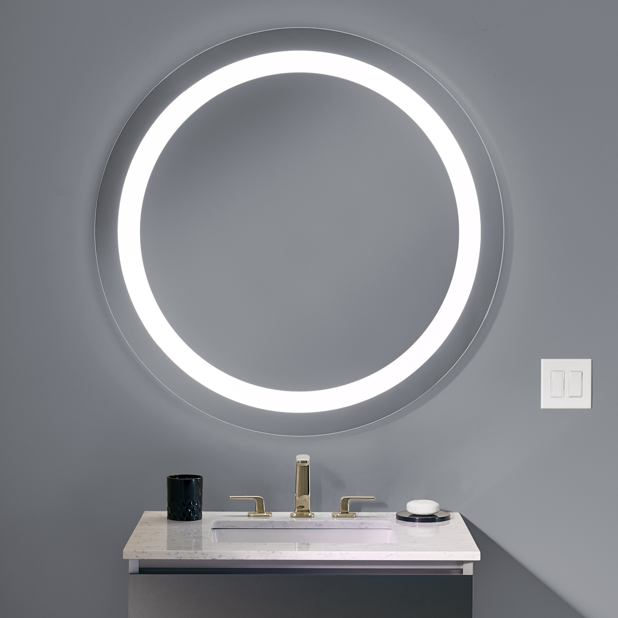 Bathroom Mirror Decorating Ideas