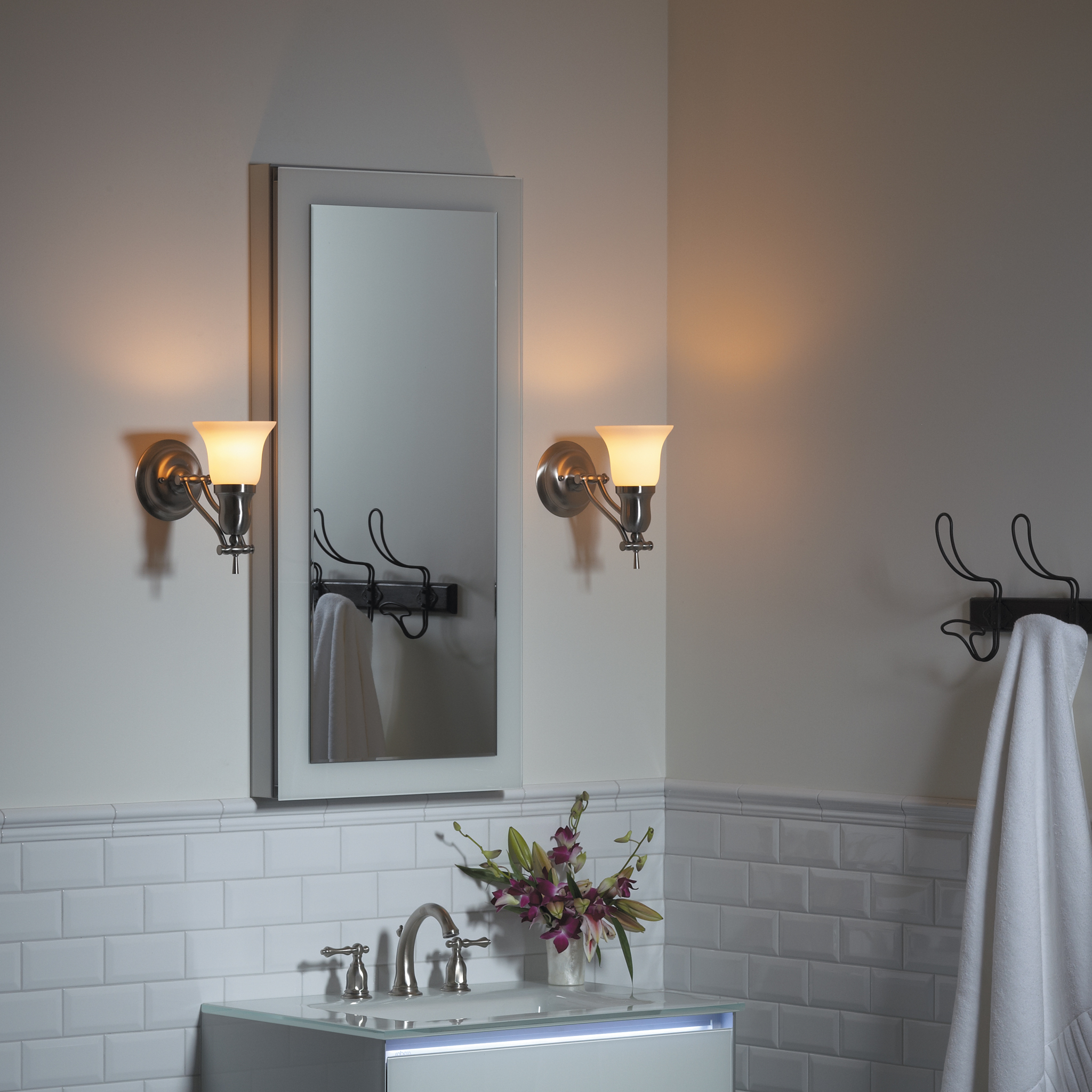 Bathroom Sconces Lighting bathroom lighting | robern